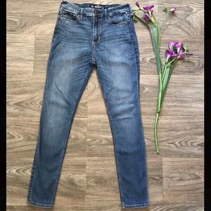 High Rise Supper Skinny Jeans